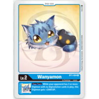 BT1-004 Wanyamon (U)