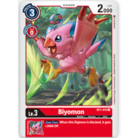 BT1-012 Biyomon (U)