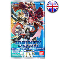 Booster Digimon Card Game : Version 1.5 (Anglais) (Précommande : Date de Sortie le 19 Fevrier)