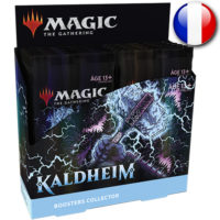 Boite de 12 Boosters Collector Magic The Gathering : Kaldheim (Francais) (Précommande : Date de Sortie le 05 Fevrier)