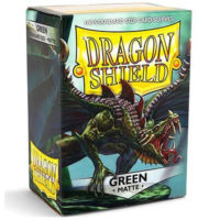 Dragon Shield – 100 protèges cartes standard : Vert Mat