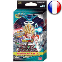 Premium Pack Dragon Ball Super Card Game : Unisson Warrior – Vicious Rejuvenation