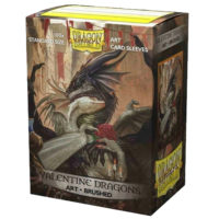 Dragon Shield : 100 Proteges Cartes Standard : Valentine Dragon 2021