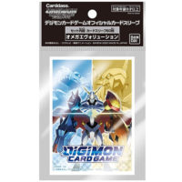 60 Proteges Cartes Digimon Card Game : Omega Evolution