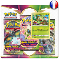 3 Boosters Pokemon : Voltage Eclatant – Ouistempo (Francais)