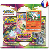 3 Boosters Pokemon : Voltage Eclatant – Flambino (Francais)