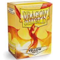 Dragon Shield – 100 protèges cartes standard : Jaune Mat
